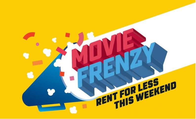 Movie Frenzy is back this weekend with rentals from $1.99