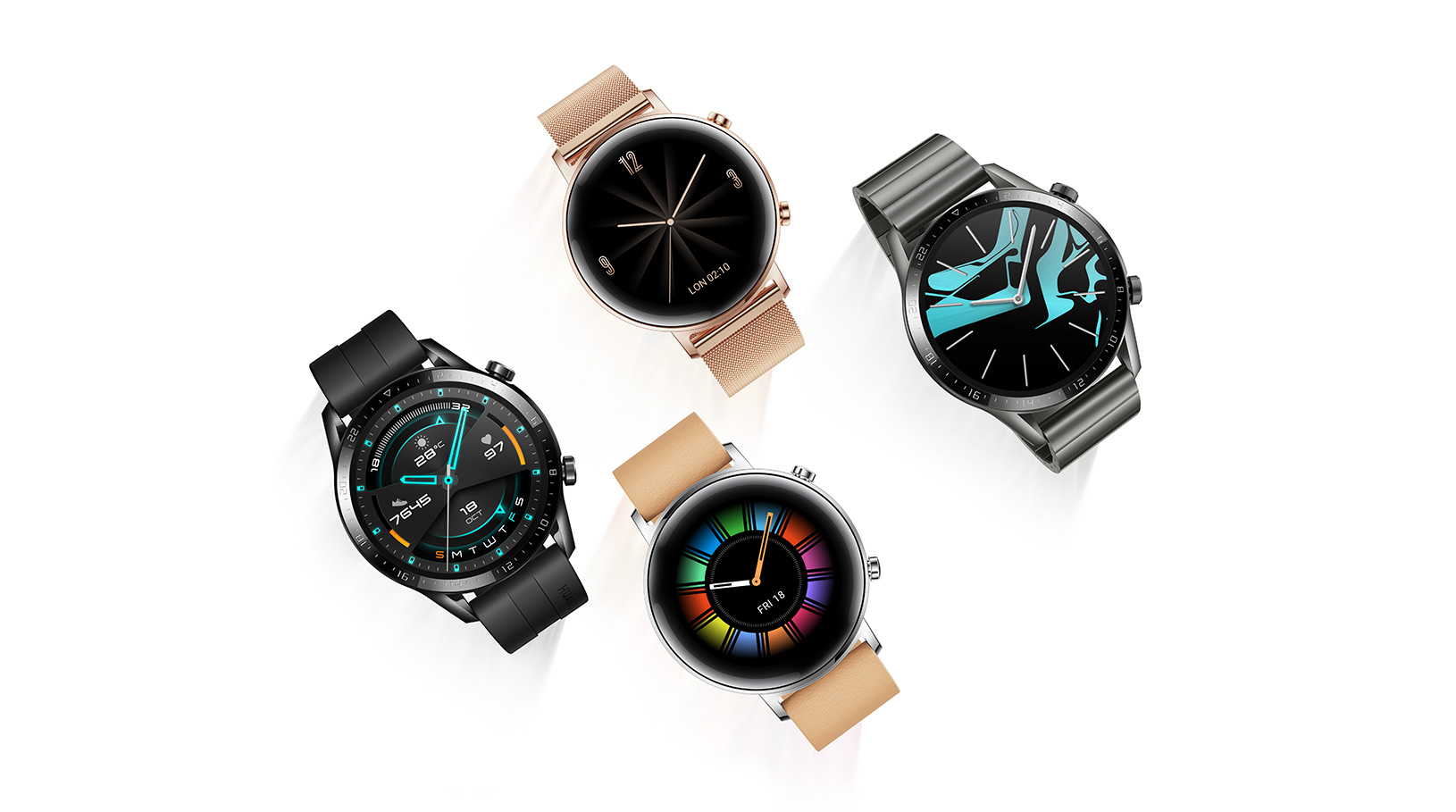 Huawei's Watch GT 2 comes with a bit more functionality