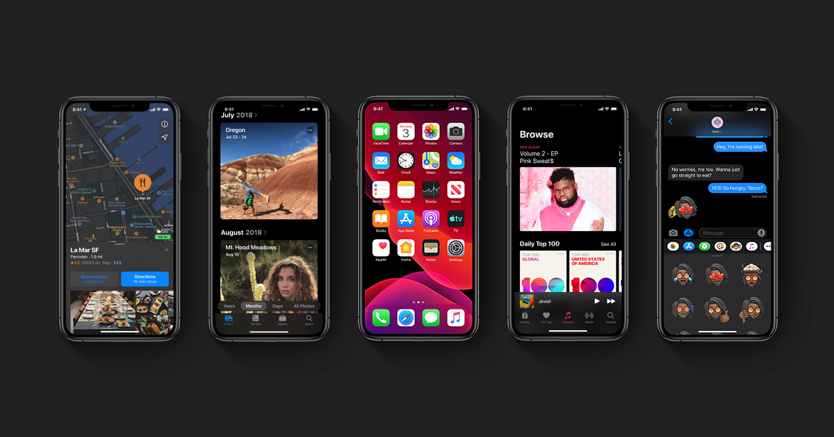 iOS 13 launches with several new features