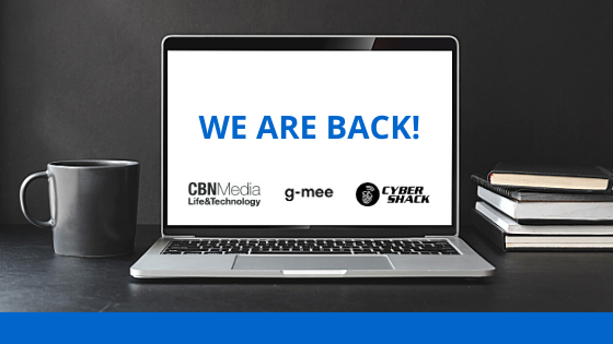 We are back online!
