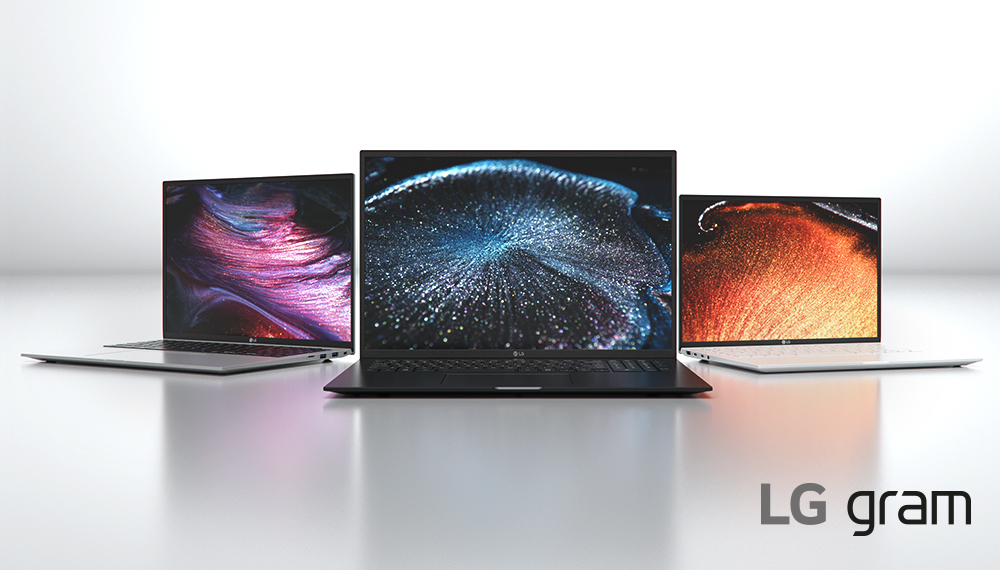 LG's 5 new laptops bring larger screens and powerful hardware