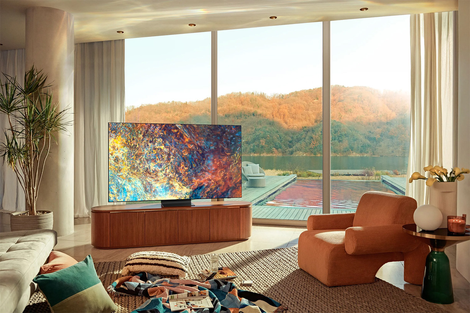 Samsung has announced its 2021 TV lineup, including a 110-inch model